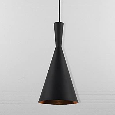 LightInTheBox Black Metal Lampshade Chandelier For Bar Decoration, Modern Home Ceiling Light Fixture Flush Mount, Pendant Light Chandeliers Lighting, Voltage=110-120V