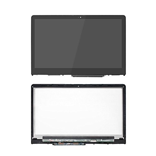 FirstLCD 925711-001 Touch LCD Screen Replacement for (HP) Hewlett-Packard Pavilion x360 15-BR000 15-BR077NR digitizer Glass LED Display Panel Assembly W/Bezel 1080P FHD 15.6 -