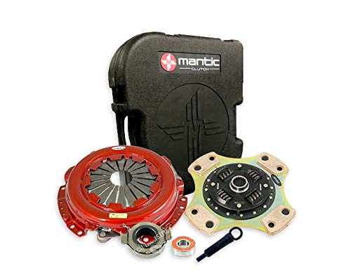 86/FRS/BRZ Clutch MS4-2943-BX Mantic S4 Kit w/Mantic HD Cover Assembly| Full Ceramic, Sprung Clutch Disc For Increased Torque Capacity. Reduced Driveability| Release & Spigot bearing| Align Tool: