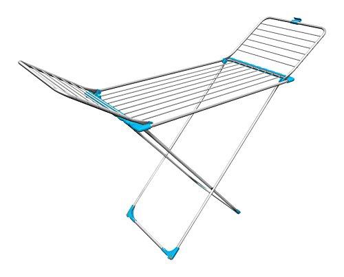 Gimi Tempo – Wäsche-Trockner Wäsche-Trockner Wäsche-Trockner 55,5 cm, 4 cm, 131,5 cm Aluminium, grün 4181b5