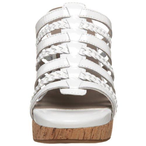 Me White Wedge Patent Sandal Too Joy rHrnqvT