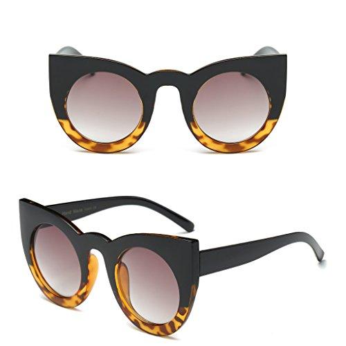 estilo de vintage JAGENIE estilo 9 10 Gafas ojo tamaño gran retro para mujer diseño gato sol de de Ax0qAgH