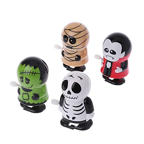 EA-STONE Novelty Toys,Halloween Clockwork Jumping Ghost Toy Mechanic