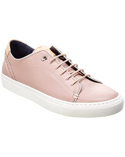 Sneaker Ted Baker Mens Kiing Fashion In Pelle Rosa Chiaro