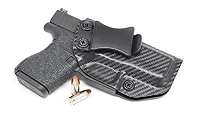 Concealment Express IWB KYDEX Holster: fits GLOCK 43 - Custom Fit - US Made - Inside Waistband - Adj. Cant/Retention