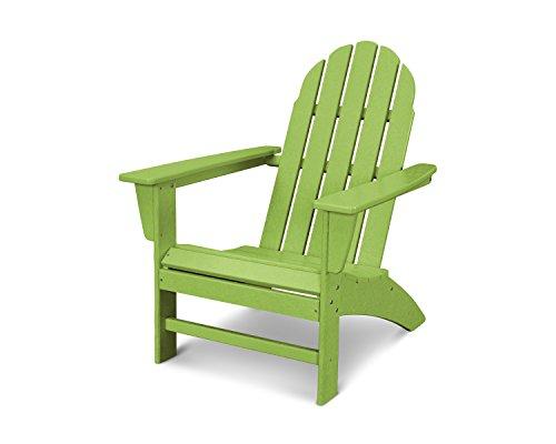 POLYWOOD Vineyard Adirondack Chair (Lime) ()