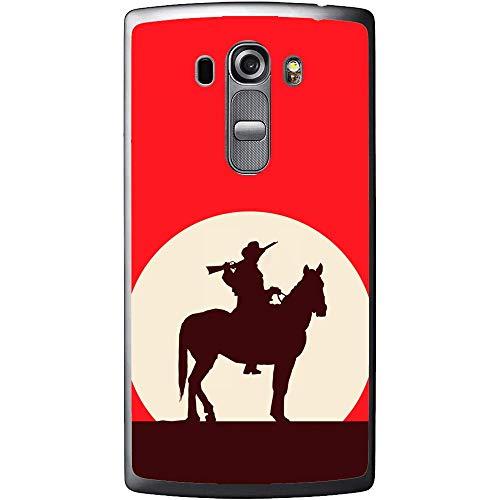 Silicone Case Red Cowboy LG G4 Beat G4s H735 (Phone Cases Lg Vista Cowboy)