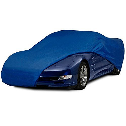 Custom C5 Corvette - C5 Corvette Semi Custom Car Cover Blue Fits: All 1997 through 2004 Corvettes