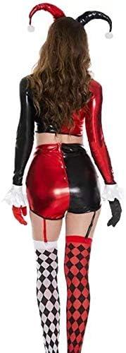 hhalibaba Disfraz de Harley Quinn para Adultos Payaso Divertido ...