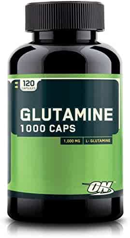 OPTIMUM NUTRITION L-Glutamine Muscle Recovery Capsules, 1000mg, 120 Count