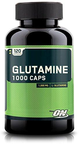 Optimum Nutrition Glutamine Capsules, 1000mg, 120 Count