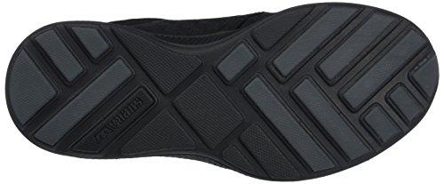 Supra Hammer Run Unisex-Erwachsene Low-Top Schwarz (BLACK - BLACK BBB)