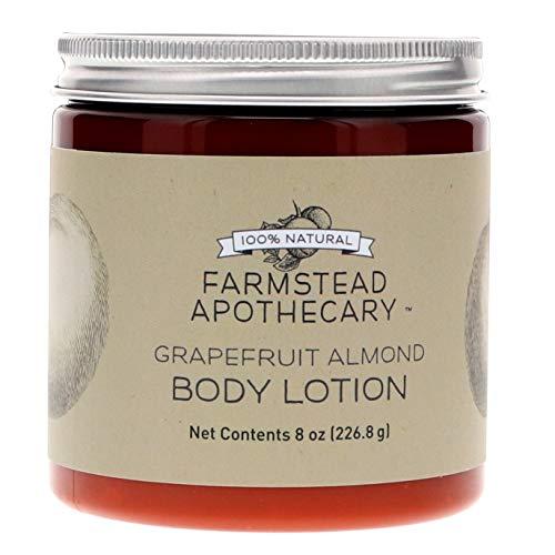 FARMSTEAD APOTHECARY Grapefruit Almond Body Lotion, 8 OZ ()