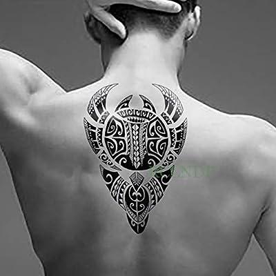 Handaxian 3pcs Etiqueta engomada del Tatuaje a Prueba de Agua Cool ...