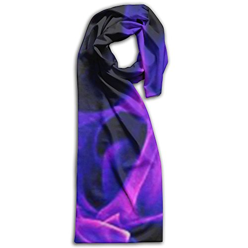 Purple Fire Flame Wallpaper Winter Scarves Lightweight Warm Towel Stylish Shawl Scarf - Burberry Size Guide