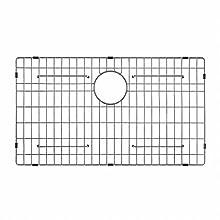 "Kraus KBG-100-30 Stainless Steel Bottom Grid for Single Bowl Kitchen Sink, 30"""