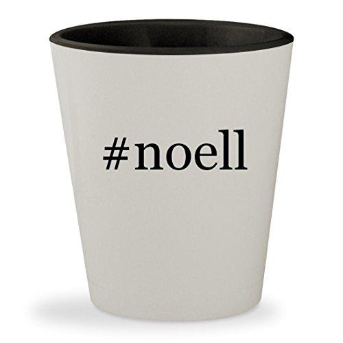 #noell - Hashtag White Outer & Black Inner Ceramic 1.5oz Shot - Sunglasses Milf