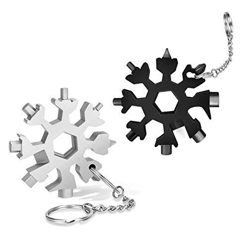 🥇 DOOGAXOO 18-in-1 Snowflake Multi Tool