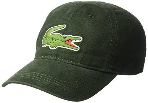4043cbca1a9 Lacoste Men s Gabardine Cap with Large Crocodile - Buy Online in UAE ...