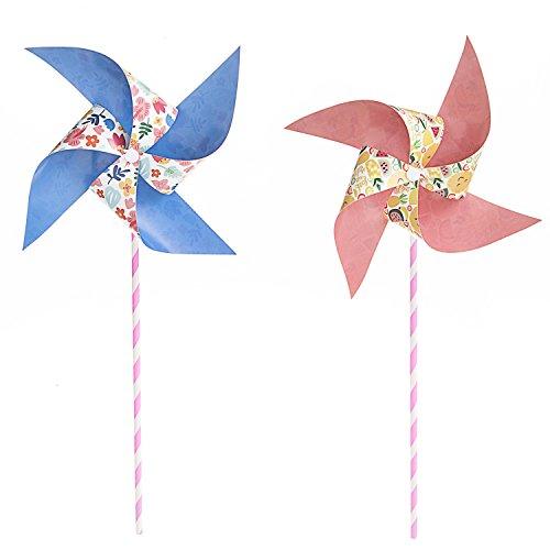 Darice 30041739 Paper Pinwheel Kit, 30 Piece, -