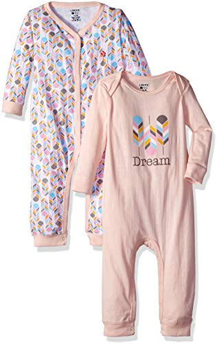 Limited Too Baby Girls 2 Pack Coverall Set, Dream Multi Color, 12M ()