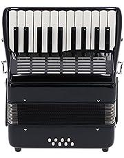Instrumenty akordeonowe, przenośny akordeon z litego drewna z plecakiem dla początkujących