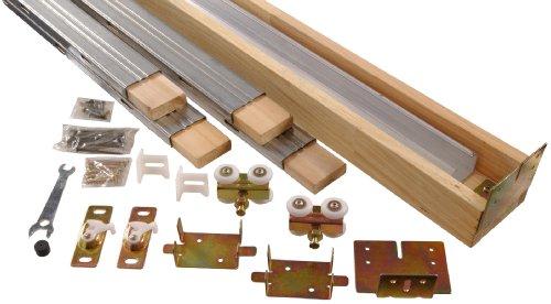 Doors Installing Fold Bi (Hillman Hardware Essentials Pocket Door Hardware Set 24