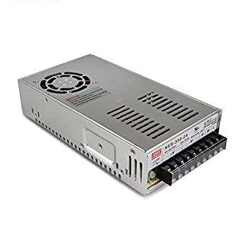 Utini NES-350W Original Mean Well AC to DC Single Output 350W 29A 12V 24V Meanwell Switching Power Supply NES-350 Output Voltage: NES-350W-24V