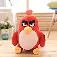 Hcrkvn Angry Birds Plush Toy. Red Anime Toy. The Best Choice for Couples' Birthday Gifts. 17cm