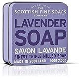 Scottish Fine Soaps Vintage Fragrances Soaps in a Tin Lavander 3.5oz