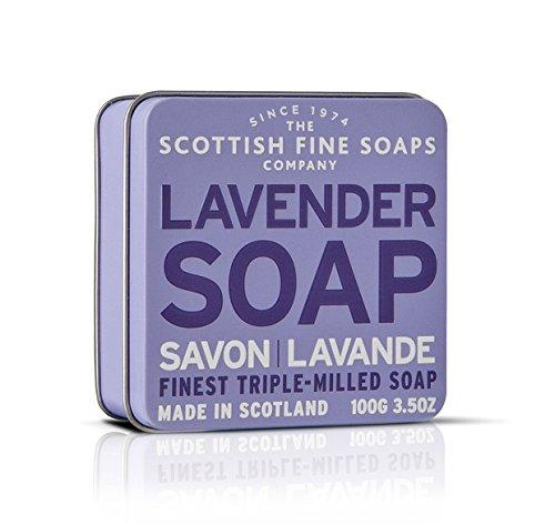 Scottish Fine Soaps Vintage Fragrances Soaps In A Tin Lavander 3 5Oz