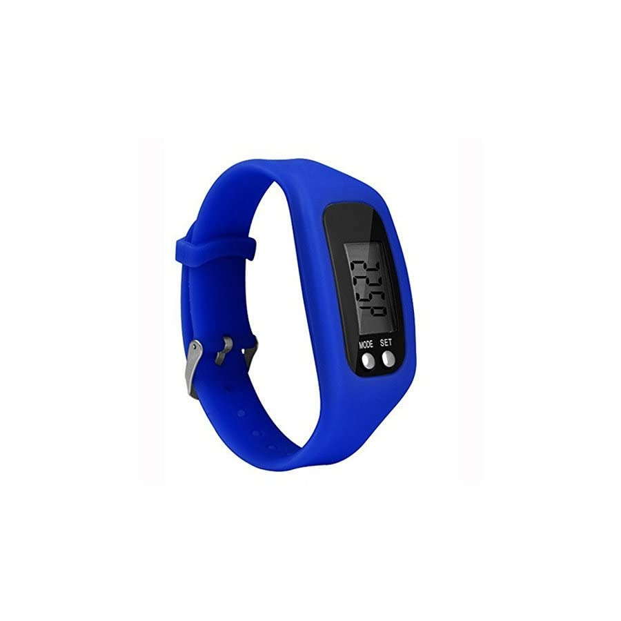 Bomxy Fitness Tracker Watch, Simply Operation Walking Running Pedometer with Calorie Burning and Steps Counting