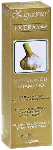 Zigavus Extra Plus Knoblauch Shampoo Original Gold 150ml gegen intensiven Haarausfall! Geruchsneutral! Anti Schuppen! Haarpflege!