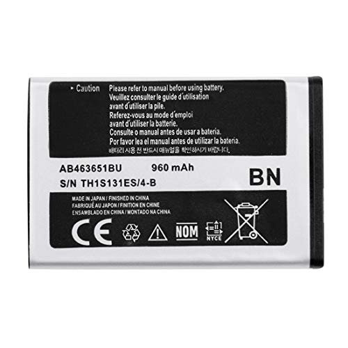 HONGYU Smartphone Spare Parts 3.7V 960mAh Rechargeable Li-Polymer Battery for Samsung F400(Black) Repair Parts (960 Mah Standard Battery)