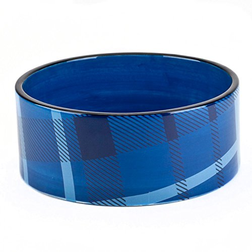 American Kennel Club Plaid Pet Bowl