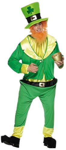Adult's Leprechaun Costume (Costume Ideas For Men With Beards)