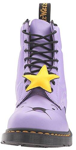 Dr. Martens Chaussures Espace Princesse Lilas 8oeillets en cuir pour femme bottes