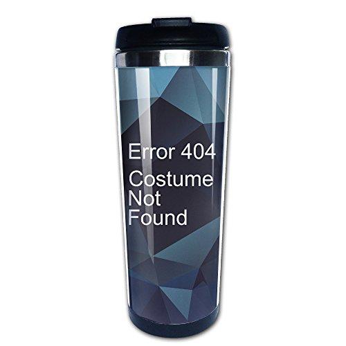 [Error 404 Costume Not Found Stainless Travel Coffee Mug] (Costume Not Found 404)