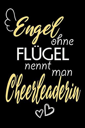 Engel Ohne Flügel Nennt Man Cheerleaderin: A5 Punkteraster • Notebook • Notizbuch • Taschenbuch • Journal • Tagebuch - Ein lustiges Geschenk für ... Familie und die beste Cheerleaderin der Welt por Cheerleaderin Notizbücher