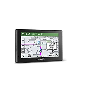 "Garmin DriveSmart 50LMT GPS Navigator, 5"" (Certified Refurbished), 010-N1539-01"