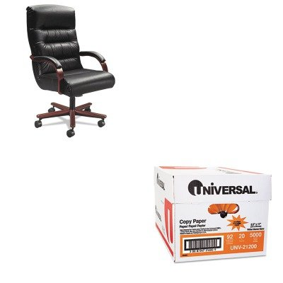 kitlzb921231unv21200-value-kit-la-z-boy-chair-company-horizon-collection-executive-high-back-chair-l