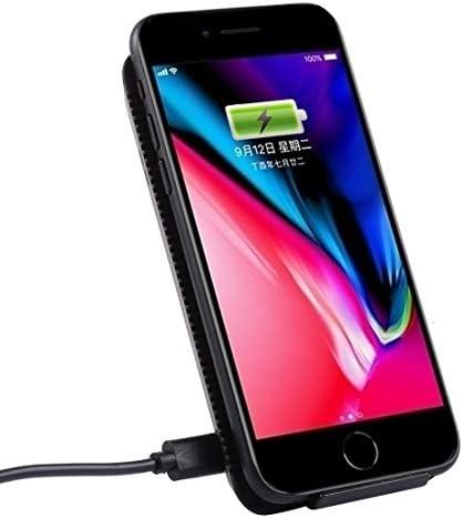 Ruthlessliu Buon Caricatore Wireless Standard Qi con Ricarica Rapida Max 10 W con indicatore Luminoso, for iPhone, Galaxy, Nokia, Xiaomi, LG, HTC e Altri Smartphone Qi Standard