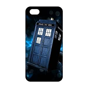 2015 Ultra Thin 3D Case Cover Doctor Who Police bOX Phone Case for iPhone 5s