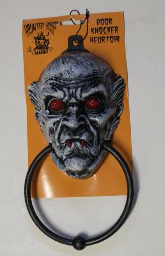 Scary & Non Scary Halloween Decorations (Plastic Spooky Halloween Door Knocker # 2)
