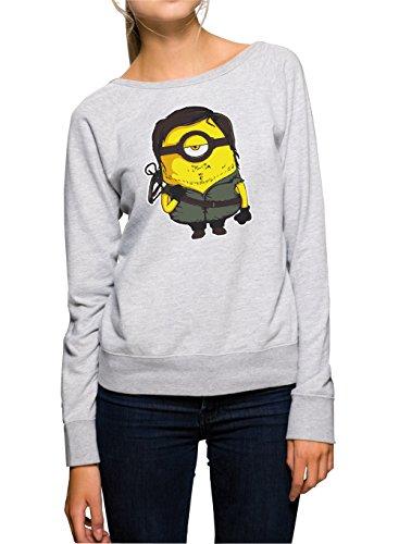 Mini Walking Sweater Girls Gris Certified Freak