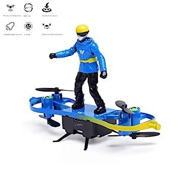 RCDNE Mini Drone LED Quadcopter para niños y Adultos retención de ...