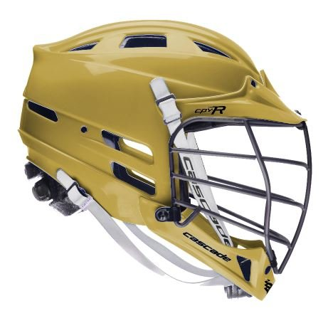 Cascade Vegas Gold CPV-R Lacrosse Helmet Black Mask-SM/MED – DiZiSports Store