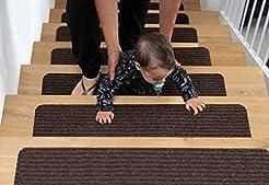 EdenProducts Non Slip Carpet Stair Tread...