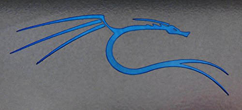 VATH backtrack/Kali Linux Blue Dragon Metal Sticker 27 x 66mm [810]
