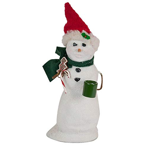 Byers' Choice Snowman with Gingerbread Christmas Figurine #SN3183